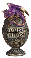 View Purple Dragon Egg Trinket Box