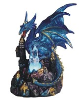 View Blue Dragon with LED