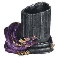 View Purple Dragon Pen Holder
