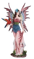 View Fairy with Red Parrot