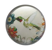 "View 3"" Hummingbird Paperweight"