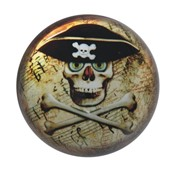"View 3"" Skull Paperweight"
