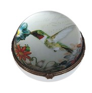 "View 3 1/4"" Hummingbird Jewel Box"