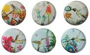 "View 6 pc Set 1 1/2"" Hummingbird Magnets"