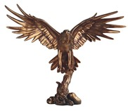 "View 18"" Bronze Eagle"