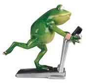"View 6 3/4"" Frog on Treadmill"