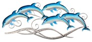 "View 28 1/2"" Dolphin Wall Plaque"