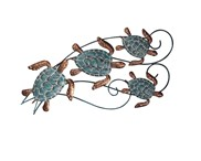 "View 26 3/4"" Sea Turtle Wall Plaque"