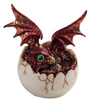 "View 4"" Red Dragon Egg"
