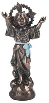 "View 5"" Bronze Holy Child"