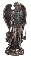 "View 5"" Bronze Archangel Saeltiel"