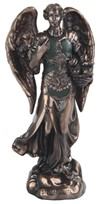 "View 5"" Bronze Archangel Barachiel"