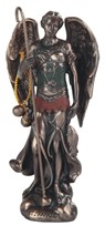 "View 5"" Bronze Archangel Raphael"