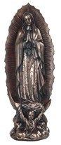 "View 16"" Bronze OL of Guadalupe"