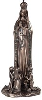 "View 16"" Bronze OL of Fatima"