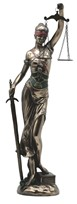 "View 24"" Bronze Angel of Justice"