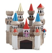 "View 6"" Castle with Wizard"