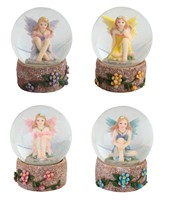 View Fairy Snow Globe Set