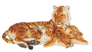 "View 15 1/2"" Bengal Tiger Family"