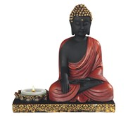 "View 5 1/2"" Buddha Meditation Candle Holder"