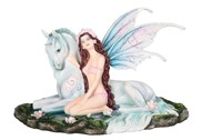 "View 13 1/2"" Fairy with Unicorn"
