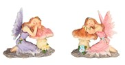 "View 3"" Fairy Sleeping on Mushroom Set"