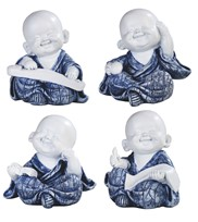 "View 3 1/4"" Monk 4 pc Set"