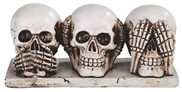 View Skull Hear/See/Speak no Evil
