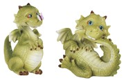 "View 3 1/2"" Cutie Dragon with Butterfly 2 pc Set"
