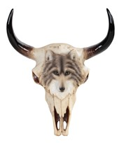 View Buffalo Skull Wall Plaque