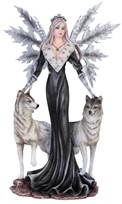 "View 9 1/2"" Fairy with Wolves"