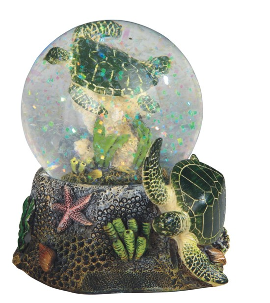 3 3 4 Quot Sea Turtle Snow Globe Gsc Imports
