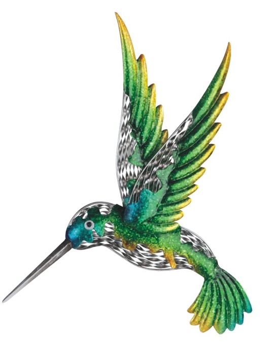 Hummingbird Wall Decoration Gsc Imports