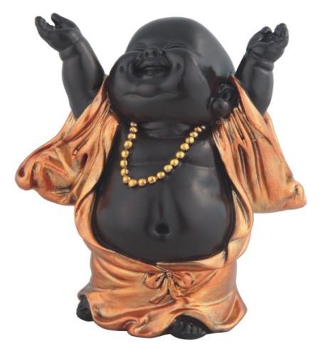 Little Buddhist Monk In Golden Black Gsc Imports