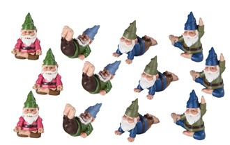 "1 3/4"" Gnome, 12 pc Set 