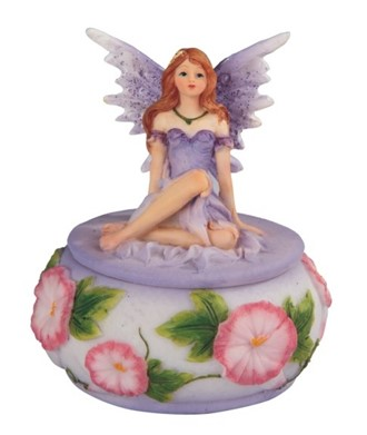 Purple Fairy Trinket Box | GSC Imports