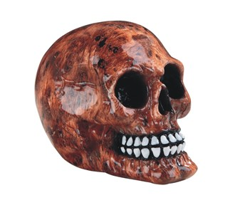 "4 1/2"" Fire Flame Skull 