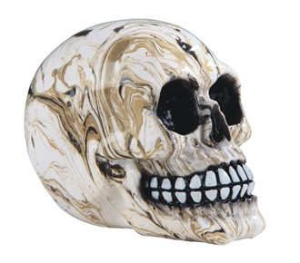 "4 1/2"" Marble Skull 