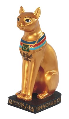"8 1/2"" Egyptian Cat Goddess 