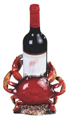 "8"" Red Crab Wine Rest 