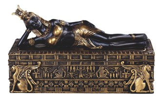 Egyptian Queen Cleopatra Trinket Box