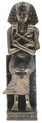 Egyptian King Tut Bronze