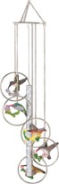 View 5-Ring Polyresin Hummingbird Wind Chime