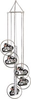 View 5-Ring Polyresin Motorcycle Wind Chime