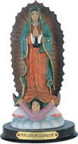 "View 7"" Our Lady of Guadalupe"