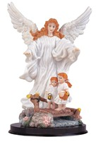 "View 9"" Guardian Angel White"
