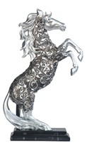 View Decorative Silver Horse Mustang