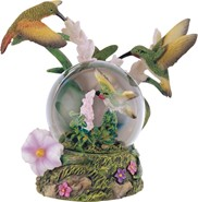 View Snow Globe Hummingbird