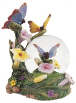 View Snow Globe Butterfly