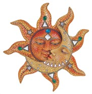 "View 13"" Mosaic Sun and Moon"